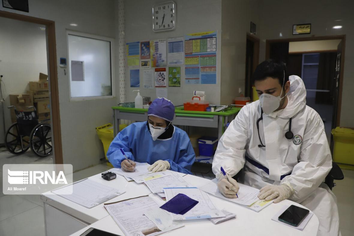 خبرنگاران ابتلای 95 نفر از کادر درمان خوزستان به کرونا
