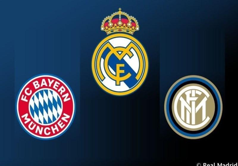 برگزاری تورنمنت محبت آمیز سه جانبه با حضور رئال مادرید، اینتر و بایرن مونیخ