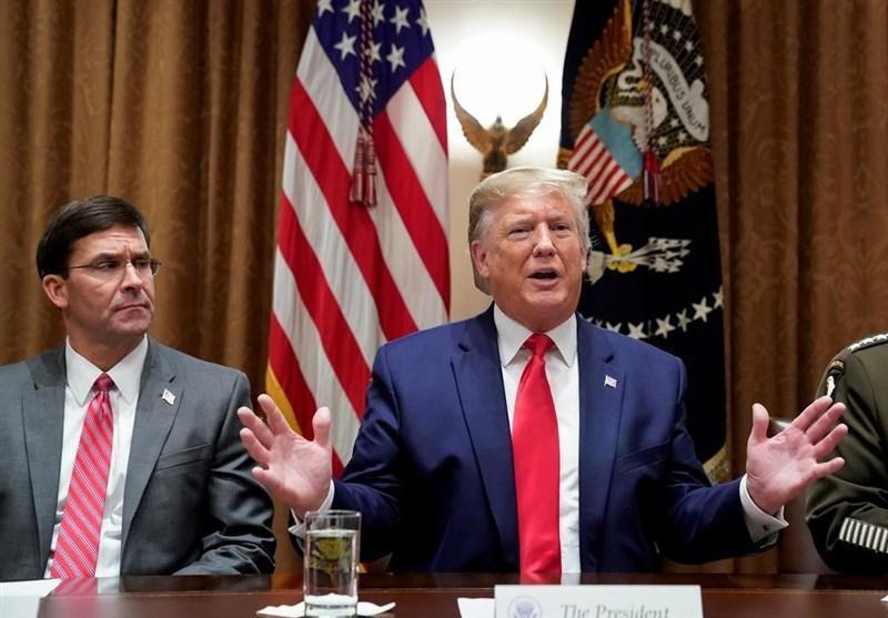 سی ان ان: مخالفت با ترامپ صندلی وزیر دفاع آمریکا را متزلزل کرد