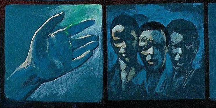 سیاهپوستانی در نقاشی عروج امام (ره)