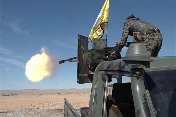 وقوع درگیری های شدید میان معترضان سوری و عناصر تحت حمایت آمریکا