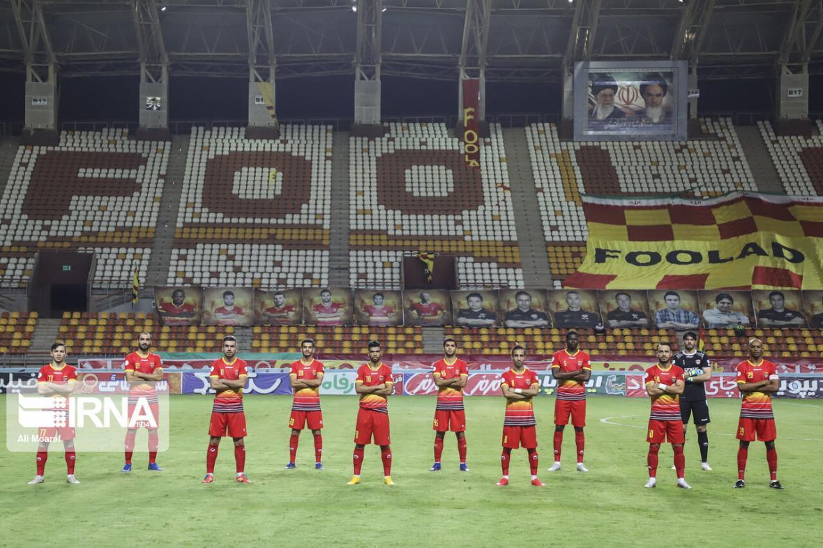 خبرنگاران تیم فولاد خوزستان برابر سایپا متوقف شد