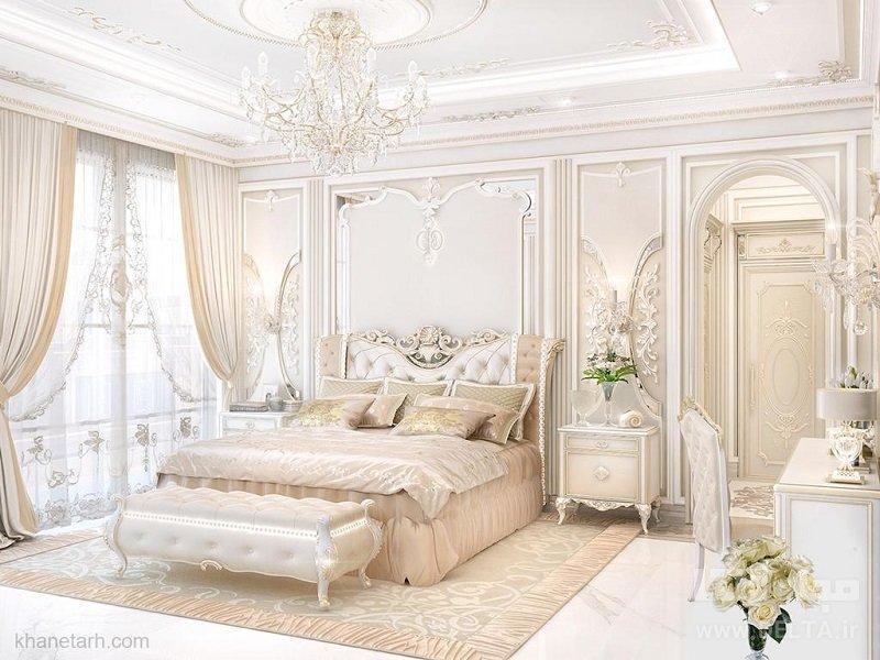 طراحی دکوراسیون اتاق خواب با کمترین هزینه