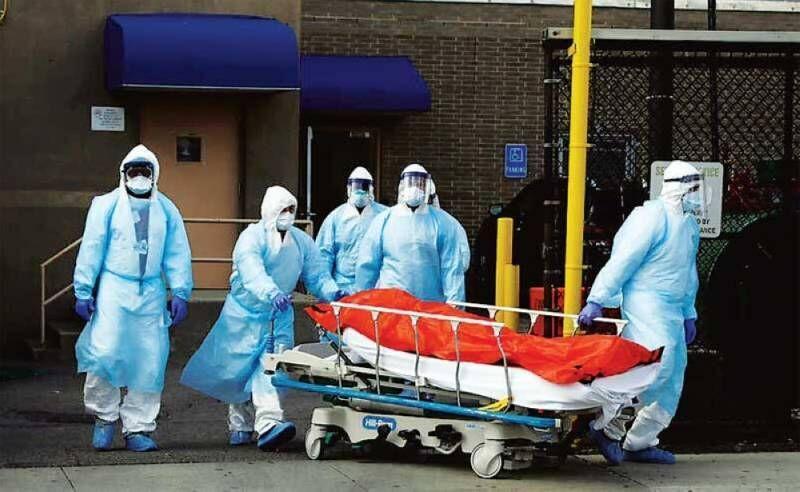 کرونا در آمریکا؛ رکورد بیش از 1300 مرگ و میر در یک روز