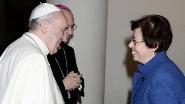پاپ سنت شکنی کرد، راهیابی نخستین زن به شورای کلیسای کاتولیک