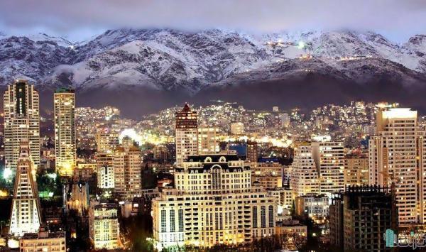 قیمت ملک در مناطق تهران در اسفند ماه