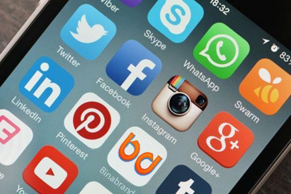 میزان استفاده مردم از شبکه های اجتماعی، واتس اپ، محبوب ترین برنامه