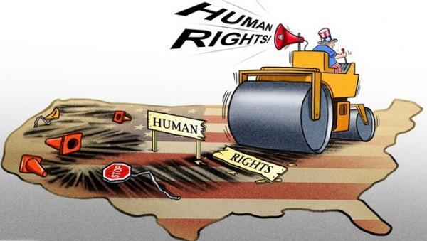 گزارش چین از شرایط حقوق بشر آمریکا؛ واشنگتن دورویی را تمام کند خبرنگاران
