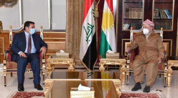 مشاور امنیت ملی عراق با رهبر حزب دموکرات کردستان ملاقات کرد
