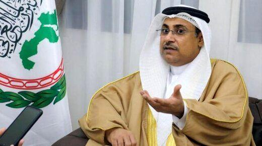 ادعاهای رئیس مجلس عربی علیه ایران، هیچ دوستی ندارد