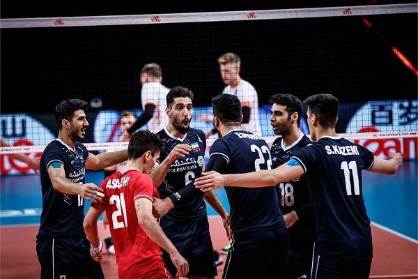 بازیکنان والیبال ایران برای بازی مقابل ایتالیا اعلام شدند