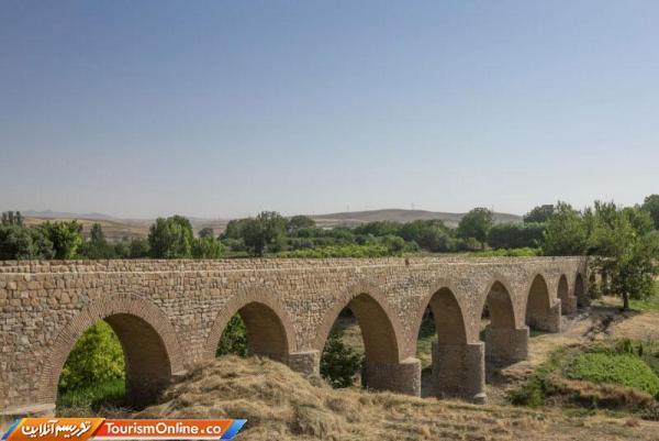 اتمام بازسازی پل قلعه حاتم بروجرد