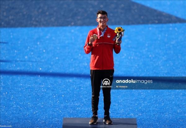 کسب اولین مدال طلای ترکیه در المپیک