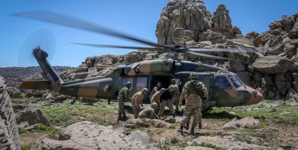 عملیات مشترک ارتش و نیروهای امنیتی ترکیه در شمال عراق علیه پ ک ک