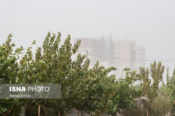 طوفان گرد و غبار چگونه مرکز را در نوردید؟